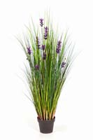 LAVENDER GRASS - Länge : 120cm, Blätter : 876, Blüten : 12