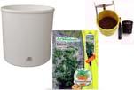 """Plants4Kids """"Mein Pflanzentöpfchen"""" Topf weiß Komplettset mit Erdnuss Jimmi Pride Nr. 50400"""