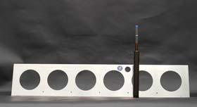 hydro profi line hydro wandbegr nung systemscheibe f r 6 x. Black Bedroom Furniture Sets. Home Design Ideas