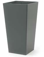 Promo Pflanzgefäße aus Kunststoff 30/30/56 cm RAL 9010 reinweiß struktur lackiert