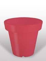 Bloom - Rot ø60/H:60
