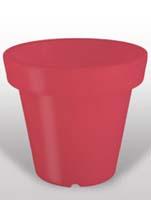 Bloom - Rot ø99/H:90