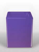 Bloom Square - Violett L:40/B:40/H:50