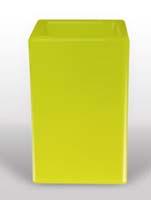 Bloom Square - Lime L:50/B:50/H:80
