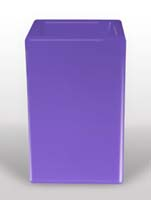 Bloom Square - Violett L:50/B:50/H:80