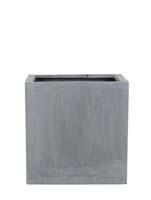 Fiberstone - Block grey L:40/B:40/H:40