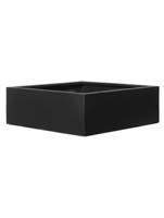 Fiberstone - Jumbo low black (M) L:60/B:60/H:24