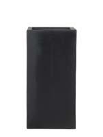 Fiberstone - Bouvy black L:30/B:30/H:60