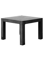 Fiberstone - Table black (S) L:100/B:100/H:75