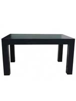 Fiberstone - Table black (M) L:140/B:90/H:75
