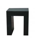 Fiberstone - Chair black L:40/B:40/H:45