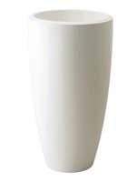 Pure Soft Round High 30 cm - Wit ø30/H:54