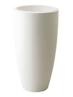 Pure Soft Round High 40 cm - Wit ø40/H:70