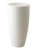 Pure Soft Round High 50 cm - Wit ø50/H:90