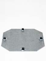 Rollengestelle - Bockrolle 4 x 8 mm ø29/H:1,5