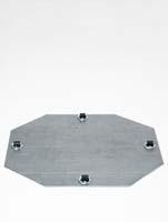 Rollengestelle - Bockrolle 4 x 8 mm ø34/H:1,5