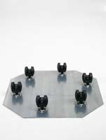 Rollengestelle - Schwenkrolle 6 x 50 mm ø52/H:7