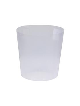 Kunststoffeinsätze transparent rund-ø15, h:15