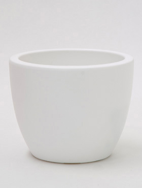 Pure Soft Round 30 cm - Wit ø30/H:24